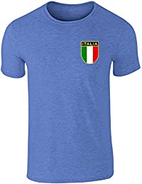 a95d7a1382f59 Pop Threads Italy Soccer Retro National Team Short Sleeve T-Shirt