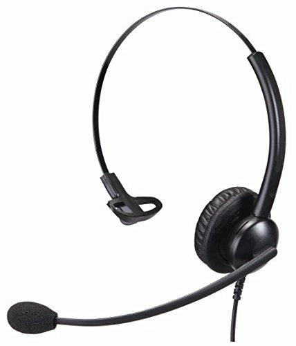 Monaural Headset mit Geräuschunterdrückung Premium Office und Call Center Headset Cisco 2,5mm Anschluss Cisco Monaural Headset