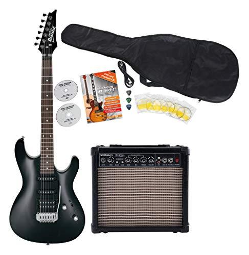 Ibanez GSA60-BKN E-Gitarre Starter SET (Ibanez E-gitarre-pickups,)