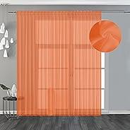 Elizabeth Tenda per casa classica, leggera voile filtrante da arredamento.ideale per la primavera e estate, El