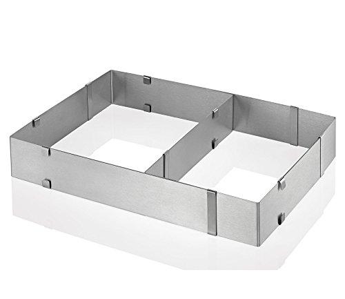 Küchenprofi 0805842800 Tortenring verstellbar, rechteckig