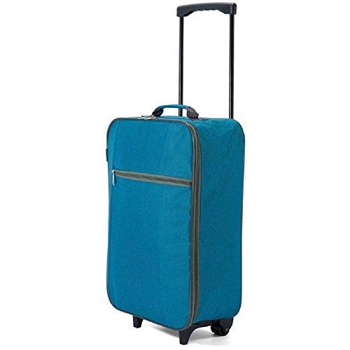 Maleta Trolley Plegable Benzi 34 x 51 x 17 cm (Azul)
