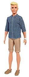 Barbie Fnh39 Ken Fashionistas Preppy Check Doll