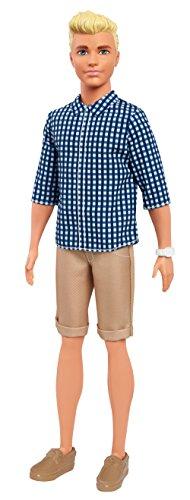 Barbie - Muñeco Ken Fashionistas Cuadros Preppy (Mattel FNH39)