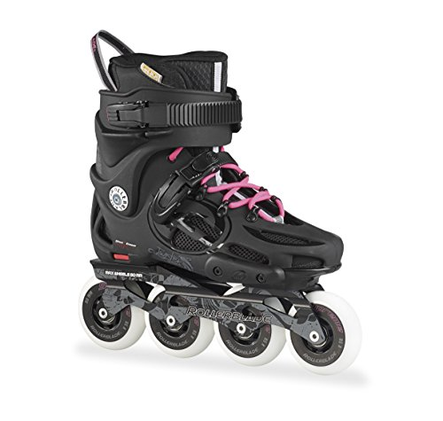 Rollerblade Inlineskate Twister 80 W - Patines en línea, color negro, talla 38.5 (talla fabricante: 245)