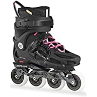 Rollerblade Twister 80 W Pattino in Linea, Donna, Colore Nero (Black/Pink), Taglia 270 (EU 42)