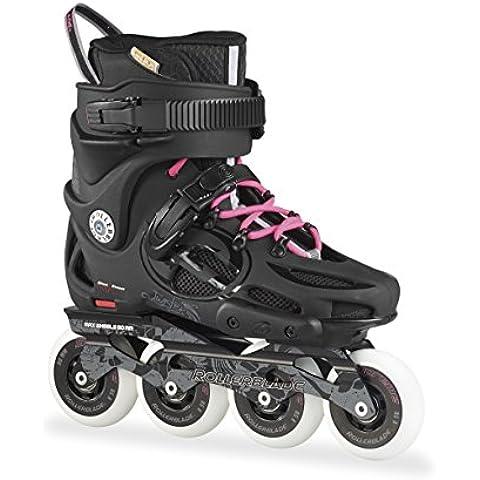 Rollerblade Inlineskate Twister 80 W - Patines en línea, color negro, talla 41 (talla fabricante: