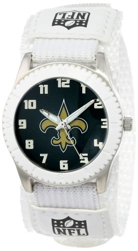 game-time-unisex-nfl-row-no-rookie-white-watch-new-orleans-saints