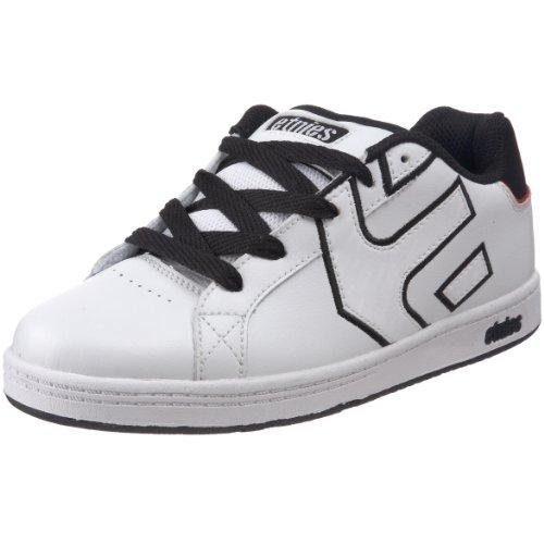Etnies Mulisha, Unisex - Kinder Sportschuhe - Skateboarding Weiß (white/black)