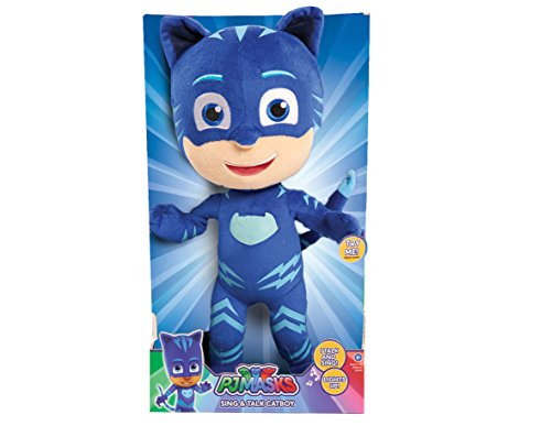 JP PJ Masks Cat Boy Feature Plush Figure