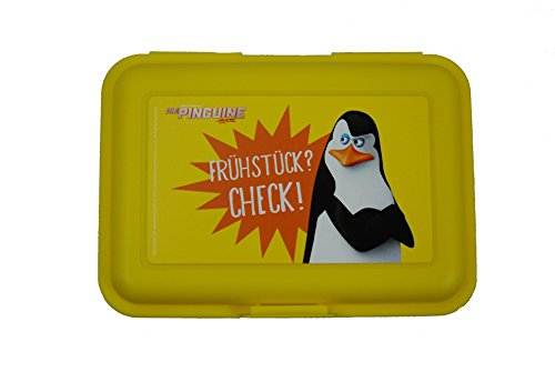 Pinguine von Madagascar - Brotbox, Brotdose, Lunchbox - Pinguin Kowalski - Lunch-box Pinguin