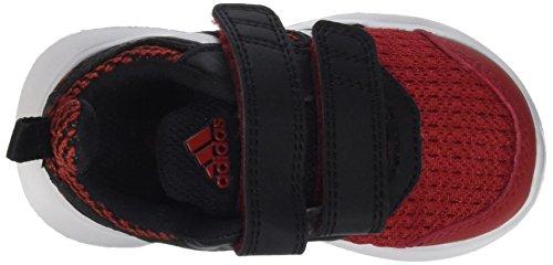 adidas Hyperfast 2.0 Cf I, Chaussures pour Premiers Pas Garçon, Rose Multicolore - mehrfarbig (Powred/Msilve/Cblack)