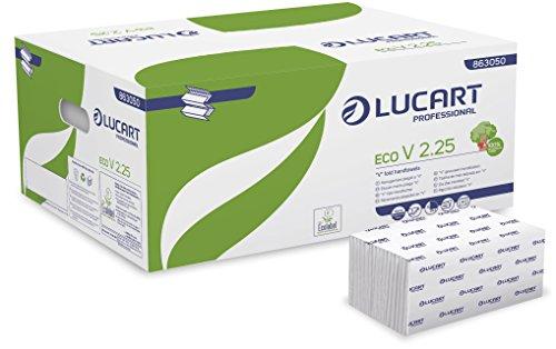 Lucart Professional 863050 asciugamani, 190 V-Fold, Eco-V2.