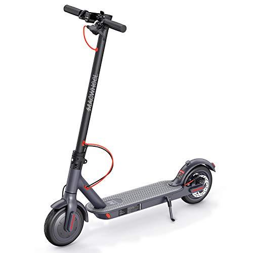 """Macwheel Trottinette Electrique Pliable, Moteur Puissant de 350W, Autonomie de 30 km, Vitesse Maximale de 25 km/h, Pneu Polyuréthane Increvable de Diamètre de 8,5"""", Scooter pour Adultes(MX1)"""