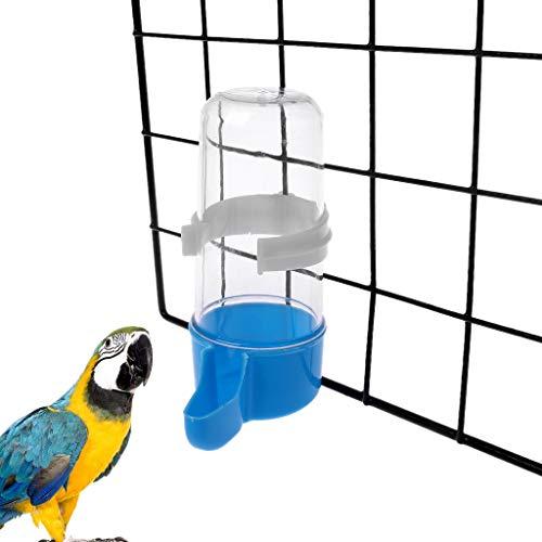Weishazi Vogelfutterstation Automatischer Vogelfutterbehälter für Papageien blau
