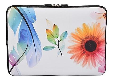 MySleeveDesign Housse de protection en néoprène pour ordinateur portable Notebook Sac Pochette 10,2
