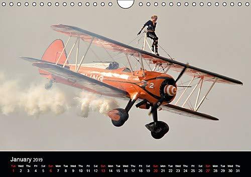 The Breitling Wingwalkers (Wall Calendar 2019 DIN A4 Landscape): The famous Breitling Wingwalkers (Monthly calendar, 14 pages ) (Calvendo Fun)
