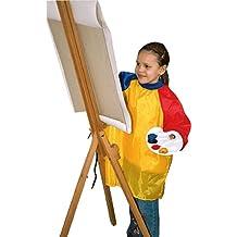 M&M 08520295SP - Grembiule da pittura, taglia unica, colore: Giallo/Rosso/Blu