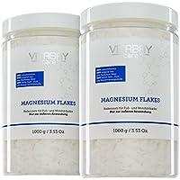 Copos de magnesio originales de Zechstein – Cloruro de magnesio – Dermatológicamente probados