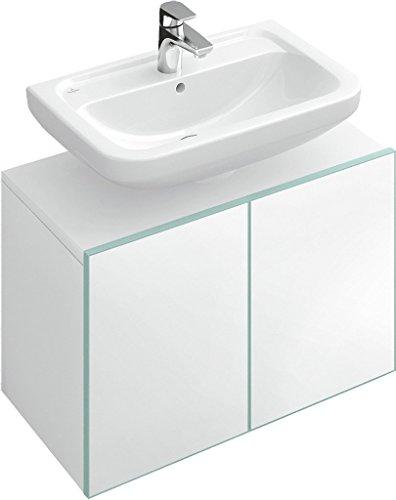 Villeroy & Boch FRAME TO FRAME Waschtischunterschrank 550 x 505 x 391 mm Eiche Silber, silber/blau Villeroy Boch Frame
