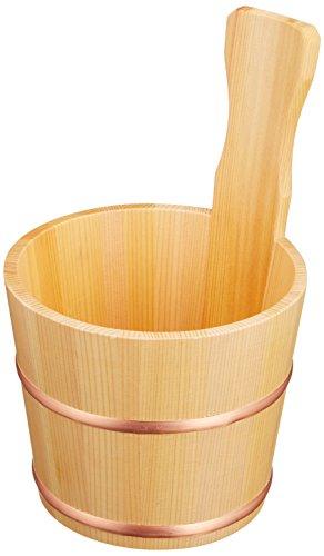 Wein-kühler Aus Holz (Holz Wein Kühler für in Dose Cypress Sake Sawara Kleine Größe)