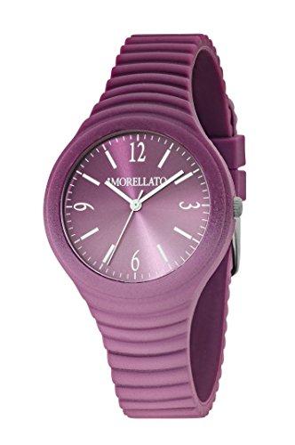 Morellato R0151114595 - Orologio da polso Donna, Silicone, colore: Viola