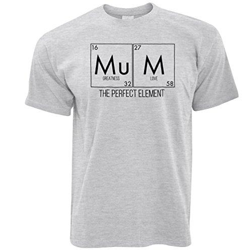 Mamma die Perfect Element Herren T-Shirt Grey