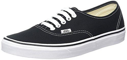 Vans scarpa authentic nero-bianco (eu 38/us 6, nero)