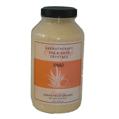 22oz Grapefruit Orange Spazazz Crystals Hot Tub Fragrance Spa Crystal