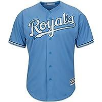 Majestic Kansas City Royals Cool Base MLB Trikot Alternate Atlantic Blau