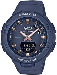 Casio Analog-Digital Blue Dial Women's Watch-BSA-B100-2ADR (BX146)