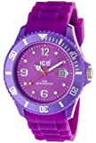 ICE-Watch - Montre Mixte - Quartz Analogique - Ice-Forever - Purple - Big - Cadran Violet - Bracelet Silicone Violet - SI.PE.B.S.09