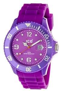 ICE-Watch - Montre Mixte - Quartz Analogique - Ice-Forever - Purple - Big - Cadran Violet - Bracelet Silicone Violet - SI.PE.B.S.09