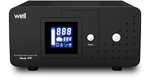 Well UPS-HEATST-STEADY500VA-WL Uninterruptible Power Supply für Heating Stations 500VA / 300W UPS, Sc-station