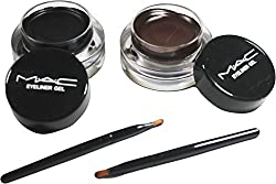 MAC 2 in1 Black & Brown Long wear Gel Eyeliner 24 Hours