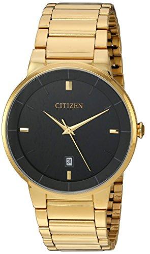 Citizen Analog Black Dial Men's Watch - BI5012-53E