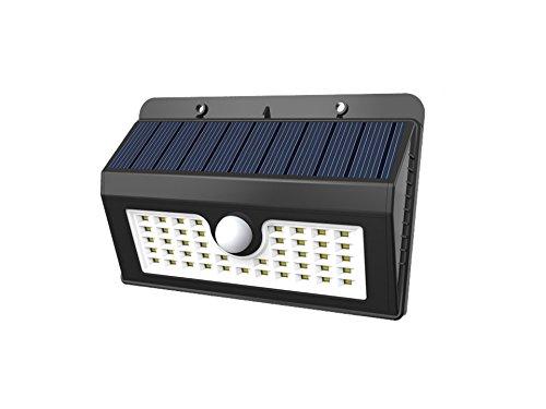 Preisvergleich Produktbild Solar Leuchte 45 LEDs, Bewegungs Solarlampe mit 3 Modi für Außen IP65