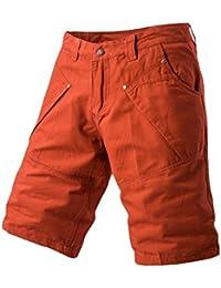b1203e82aba2b9 AnyuA Bermudas Herren Cargo Kurze Hose Shorts Knielang Hosen Freizeitshorts