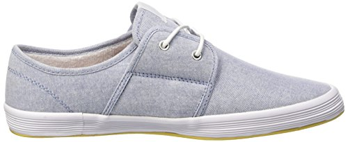 Base London Spam 2, Baskets Basses homme Bleu (Denim Pale Blue)