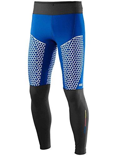 Salomon S-Lab Exo Tight - Collant, da Uomo, colore Blu, taglia S