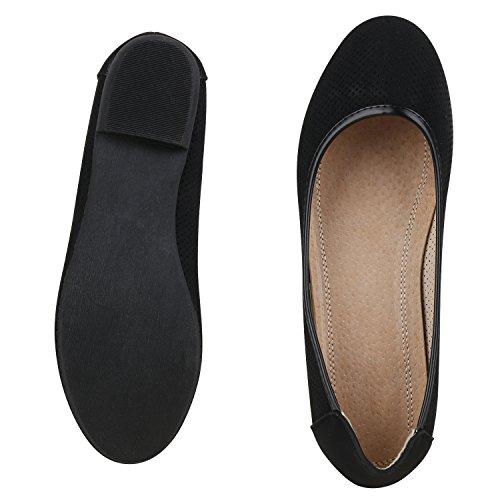 Jennika Scarpe Flats Metallizzate Pantofole Classic Elegante Da Lace Napoli Lacca Piatte Sera Hole Ladies Perforato Fashion Scarpe Macinare Black Ballerine Glitter TwFgP