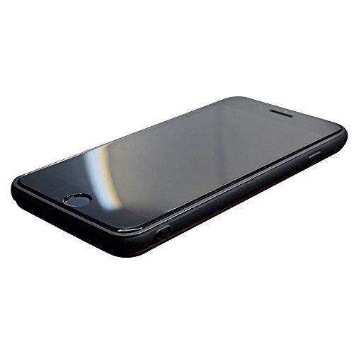 Housse de Protection Bois Véritable pour iPhone 7 (4.7 pouce), Skitic Naturel Sculpté Bois de Rose Cover Coque + TPU Bumper Doux Hybride Etui Case - Ancres Ancres