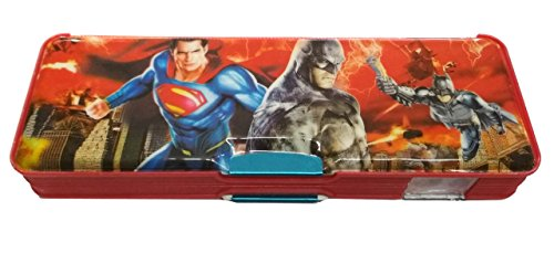 HALO NATION Multipurpose Pencil Box with Calculator + Dual Sharpener (Superman)  available at amazon for Rs.249