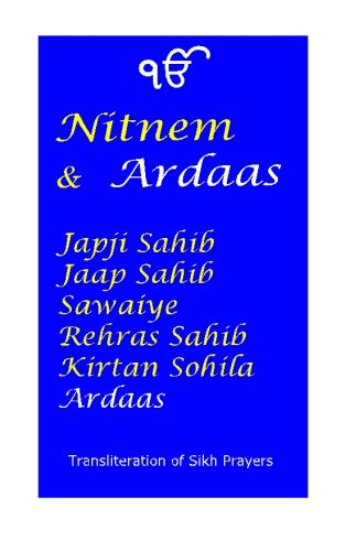 Nitnem and Ardaas por Manmohan Singh Sethi