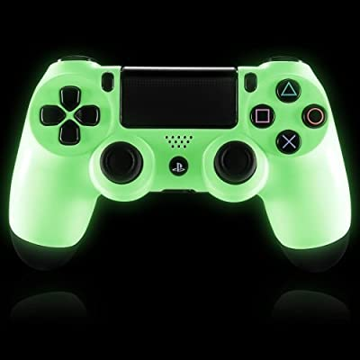 Glow in the Dark Ps4 Custom Modded Controller 35 Mods COD Ghosts Quick Scope Auto Run Sniper Breath and More