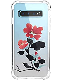 "Funda para Samsung Galaxy S10E, Carcasa Transparente Protectora Reforzado Cojín de Esquina Parachoques Case Flexible TPU Suave Anti-Choque Ultra-Delgado Bumper Cubierta para Galaxy S10E 5.8"""