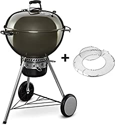 Weber 14510004 Master-Touch GBS Holzkohlegrill 57 cm Smoke Grey