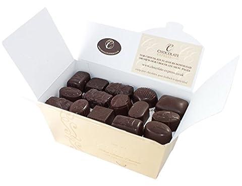 Belgische Leonidas Zartbitterschokolade: Luxuriösen Mischung Von 45 edle pralinen In Geschenkbox.
