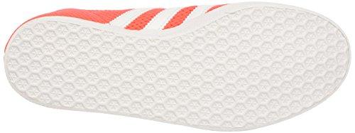 adidas Gazelle, Sneaker Uomo Arancione (Solar Red/footwear White/solar Red)