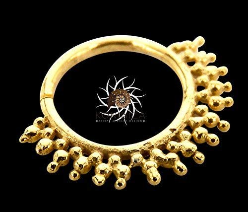 Gold Nasenring - Gold Nasenreifen - Indischer Nasenring - Tribal Nase Ring - Nasenschmuck - Nasenpiercing - winzigen Nasenring - Nasenloch Schmuck - Nasenring Ring - Piercing Schmuck